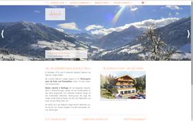 Startseite der Alpbach Lodge
